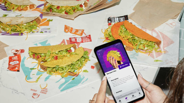 Taco Bell monthly subscription service