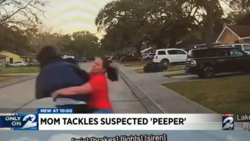 Texas Peeping Tom form tackle