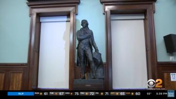 Thomas Jefferson statue NYC city council removed