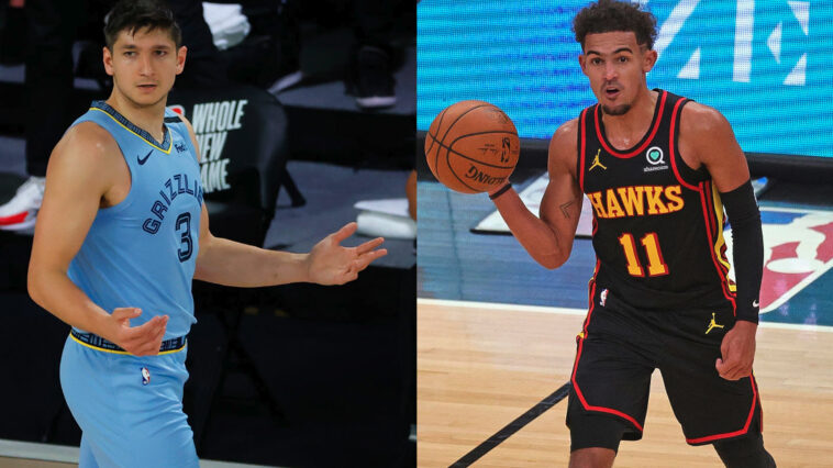 Trae Young Grayson Allen War of words