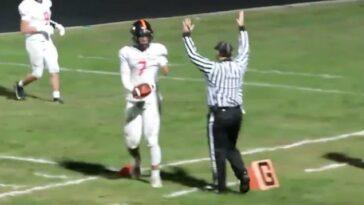 Trashaun Willis one arm quarterback scholarship offer