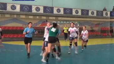 Ukraine handball fight