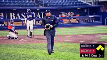 Umpire quits Dallas Baptist intrasquad game over heckling
