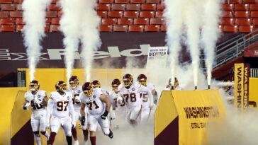 Washington Football Team Trademark Application Tackled For A Loss