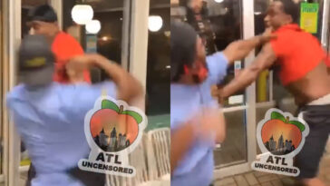 Waffle House fight video