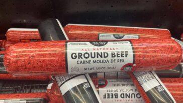 Walmart beef battle Euclid Ohio 10 pound beef