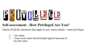 YWCA White Privilege Checklist - lead