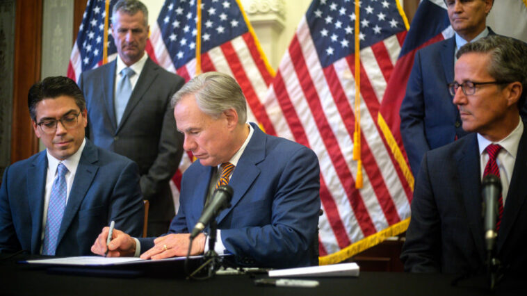 Texas Gov. Abbott Defunds His Own State's Legislature After Dems' Walkout