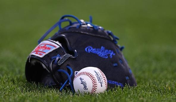MLB Ball and Mitt